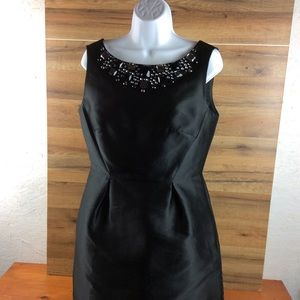 Kate Spade Black Cocktail Dress w/Bling Size 6